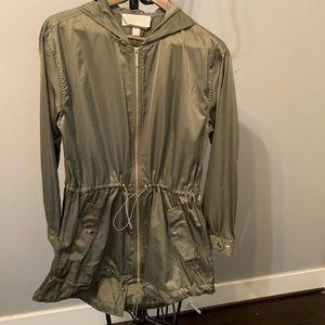New Michael kors safari green jacket xs, m